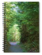Stroll Through The Quinault Rain Forest Spiral Notebook