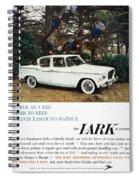 Studebaker Ad, 1959 Spiral Notebook