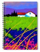Study For Provence Painting Spiral Notebook
