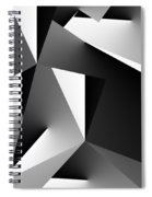 Study In Black And White 103012 Spiral Notebook
