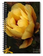 Study In Yellow Spiral Notebook