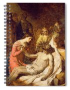 Study Of The Lamentation On The Dead Christ Spiral Notebook