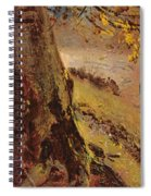 Study Of Tree Trunks Spiral Notebook