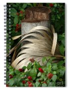 Stump And Fronds Spiral Notebook