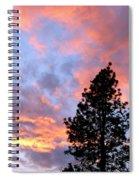 Stunning Spring Sky Spiral Notebook