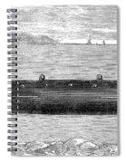 Submarine, 1852 Spiral Notebook