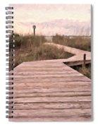 Subtle Bridge Spiral Notebook
