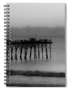 Subtle Pier Spiral Notebook