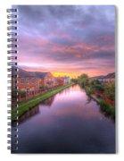 Suburban Sunrise 1.0 Spiral Notebook