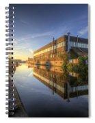 Suburban Sunrise 4.0 Spiral Notebook
