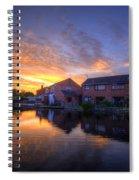 Suburban Sunrise 5.0 Spiral Notebook