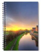 Suburban Sunrise 8.0 Spiral Notebook