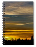 Suburban Sunrise Spiral Notebook