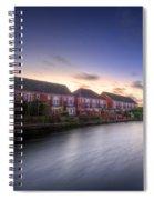Suburban Sunset 3.0 Spiral Notebook