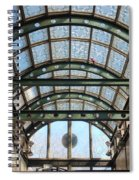 Subway Glass Station Spiral Notebook
