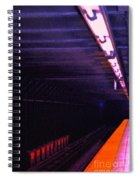 Subway Silence Spiral Notebook