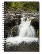 Sucker River Falls 2 J Spiral Notebook