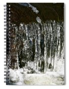 Suds Falls Spiral Notebook