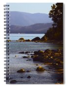 Sugar Pine Point Beach Spiral Notebook