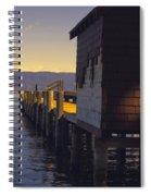 Sugar Pine Point Dock Spiral Notebook