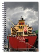 Sugar Ship Spiral Notebook