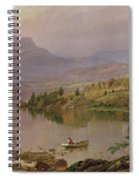 Sugarloaf From Wickham Lake Spiral Notebook