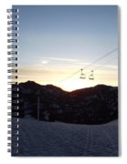 Sugarloaf Sunrise Spiral Notebook