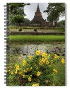 Sukhothai Historical Park Spiral Notebook