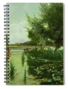 Summer - One Of A Set Of The Four Seasons Spiral Notebook