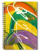 Summer Bliss Iv Spiral Notebook