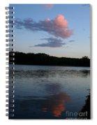 Summer Cloud Reflections Spiral Notebook