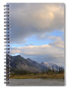 Summer Clouds Over Colin Mountain Spiral Notebook
