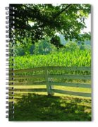 Summer Corn Spiral Notebook