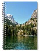 Summer Day At Jenny Lake Spiral Notebook