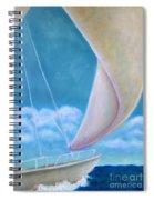 Summer Enjoyment Spiral Notebook