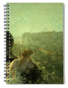 Summer Evening In Paris Spiral Notebook