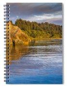 Summer Evening On Little River Spiral Notebook