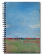 Summer Field Spiral Notebook