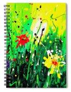 Summer Garden Spiral Notebook