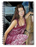 Summer Glau - River Tam Spiral Notebook