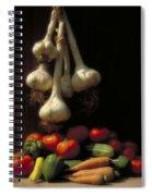 Summer Harvest Spiral Notebook