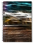 Summer Harvest Storm Spiral Notebook