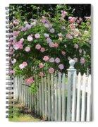 Summer In Maine Spiral Notebook