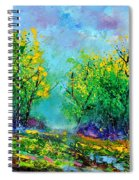 Summer In The Wood 452160 Spiral Notebook