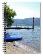 Summer Kayak Spiral Notebook
