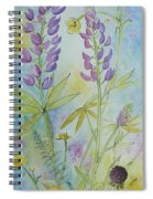 Summer Meadow Spiral Notebook