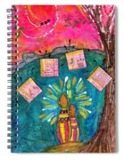 Summer Melodies Spiral Notebook