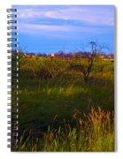 Summer Shot Of Old Shack By Creek, St Spiral Notebook
