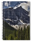 Summer Snow Spiral Notebook