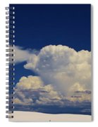 Summer Storms Over The Mountains 3 Spiral Notebook